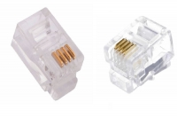 Коннектор rj11 4p4c для телефонной связи